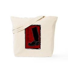 Boot Black Tote Bag