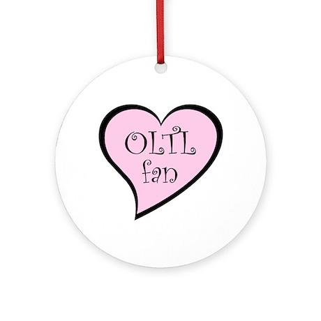 OLTL fan Ornament (Round)