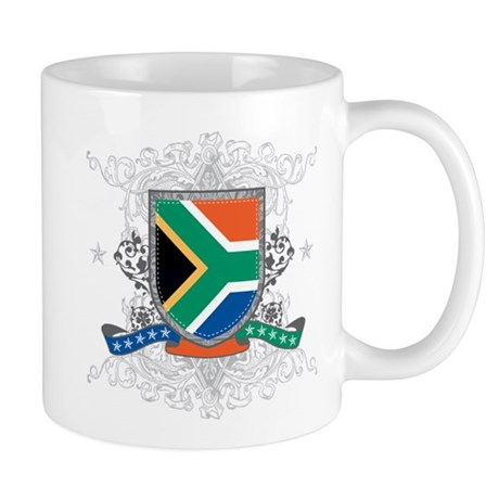 South Africa Shield Mug