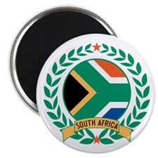 South Africa Wreath Magnet