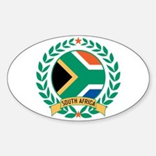South Africa Wreath Decal