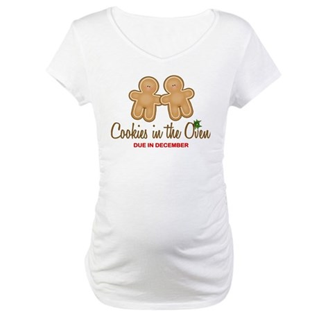 Twin Cookies Maternity T-Shirt