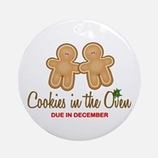 Twin Cookies Ornament (Round)