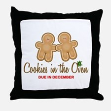 Twin Cookies Throw Pillow