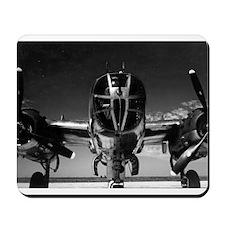 Retro B-25 Mousepad