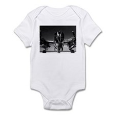 Retro B-25 Infant Creeper
