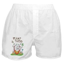 Plant A Tree Boxer Shorts