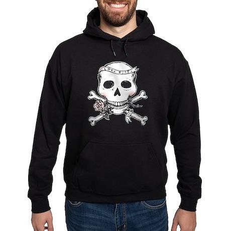 Skull - Love Bites Hoodie (dark)