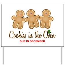 Triplet Cookies Yard Sign