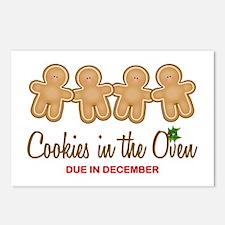 Quadruplet Cookies Postcards (Package of 8)