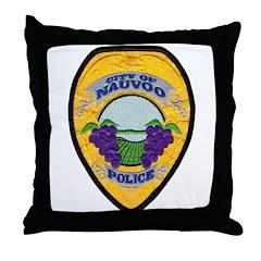 Nauvoo Police Throw Pillow
