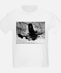B-25s in Formation Kids T-Shirt