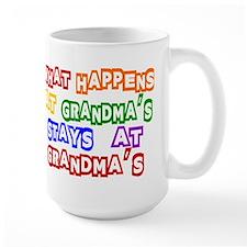 What Happens at Grandma's Sta Mug