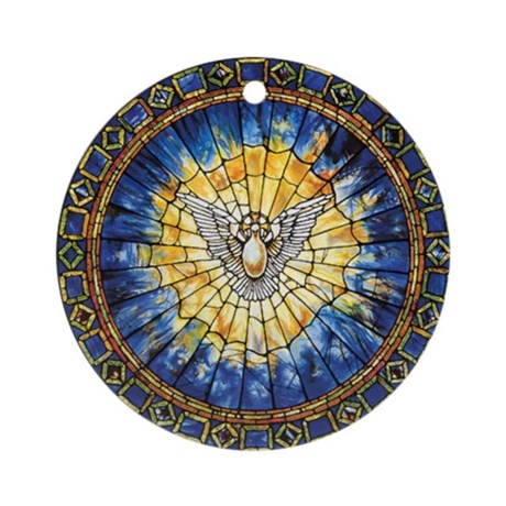 Holy Spirit Ornament (Round)