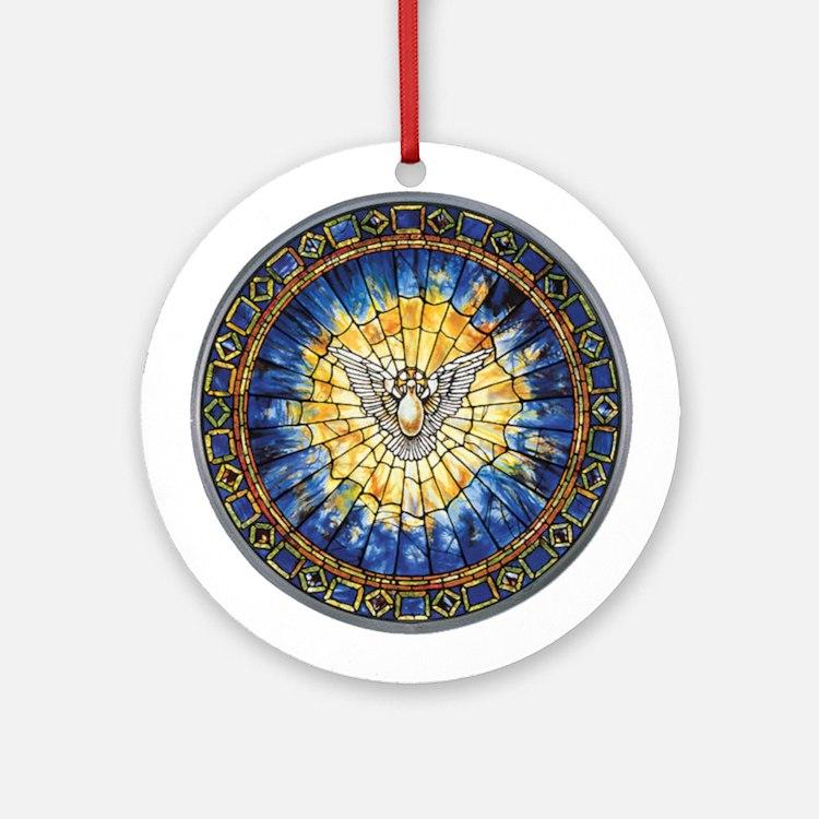 Holy Spirit Ornament (Round)