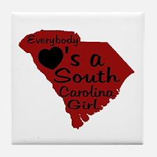 Everybody Loves a SC Girl (GB Tile Coaster
