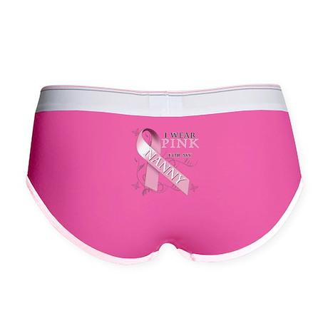 I Wear Pink for my Nanny Women's Boy Brief