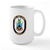 Uss iwo jima lhd 7 Large Mugs (15 oz)