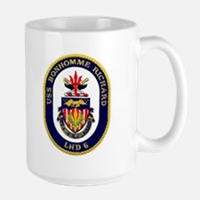 USS Bonhomme Richard LHD 6 Large Mug