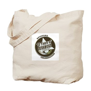Official GUNSMOKE 55th Anniversary Tote Bag