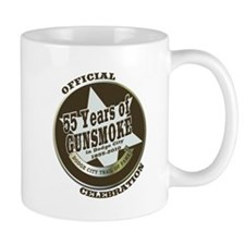 Official Gunsmoke 55th Anniversary Coffee Small Mug