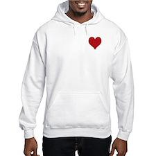 Red Heart Hoodie