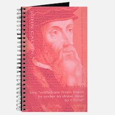 John Calvin - Protestant Reformer (pink Journal)
