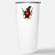 Chickens Got Guns Stainless Steel Travel Mug