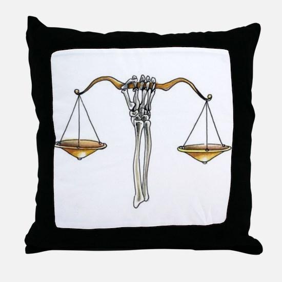 Kelemvor's Charge Throw Pillow