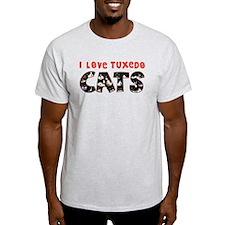 Unique Tuxedo cats T-Shirt