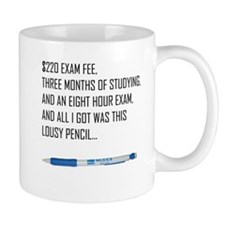 PE Exam Shirt Mugs