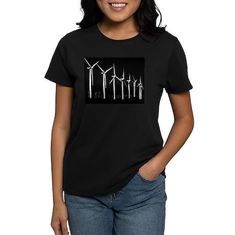 Bold Wind Farm Women's Dark T-Shirt