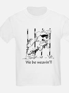 Unique Border collie cartoon T-Shirt