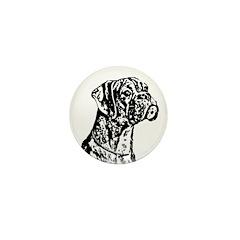 Boxer Dog Mini Button (10 pack)