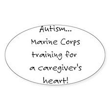 Marine Corps training (Autism Decal