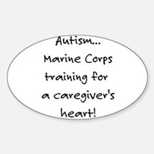 Marine Corps training (Autism Decal