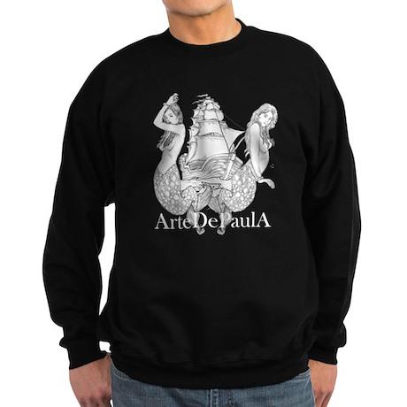 Galleon Mermaids Sweatshirt (dark)