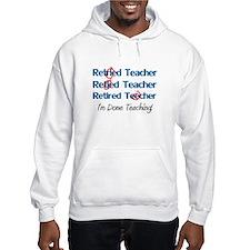 retired teacher Hoodie