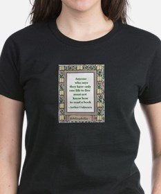 Never Read A Book Tee