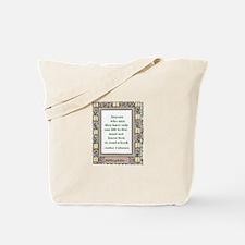 Never Read A Book Tote Bag