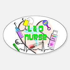 Labor & Delivery Nurse Decal