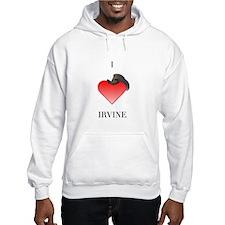 I *heart* Irvine Hoodie