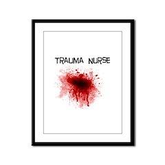ER/Trauma Framed Panel Print