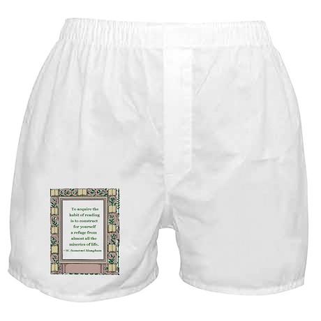 The Habit of Reading Boxer Shorts