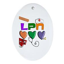 Licensed Practical Nurse Ornament (Oval)