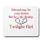 Edward Red Reality Mousepad