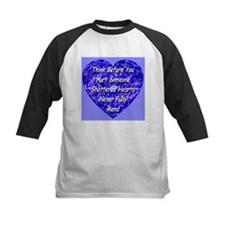 Shattered Heart Blue Boy Tee