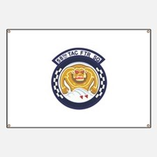 123rd Fighter Squadron Banner