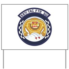 123rd Fighter Squadron Yard Sign