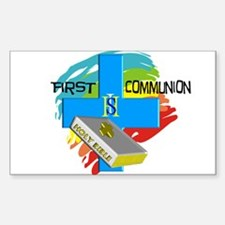First Communion Decal